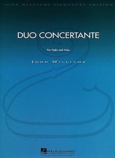 HAL LEONARD Williams, J.: Duo Concertante (violin & viola) Hal Leonard