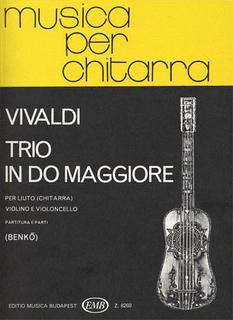 HAL LEONARD Vivaldi, Antonio: Trio in C Major RV82 (guitar, Violin, Cello)