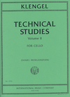 International Music Company Klengel (Morganstern): Technical Studies, Vol.2 (cello)