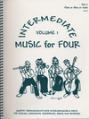 Last Resort Music Publishing Kelley, Daniel: Music for Four Intermediate Vol.1 (Violin 2)