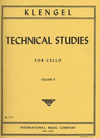 International Music Company Klengel (Rose): Technical Studies, Vol.2 (cello)