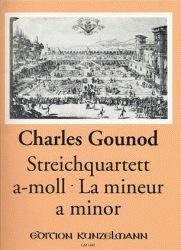 Gounod, Charles: String Quartet in a minor