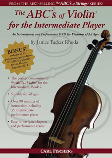 Carl Fischer DVD - Rhoda: The ABC's of Violin for the Intermediate Player (violin)(DVD)
