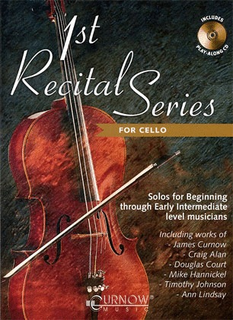 HAL LEONARD Curnow, James: 1st Recital Series for Cello (cello & CD)