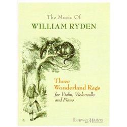 LudwigMasters Ryden, William: Three Wonderland Rags (violin, cello, piano)