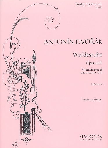 HAL LEONARD Dvorak, Antonin: Waldesruhe-Silent Woods Op.68 #5 (5 cellos) SIMROCK