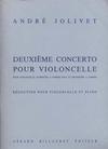 Carl Fischer Jolivet, Andre: Concerto No.2 (cello & piano)