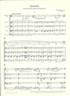 HAL LEONARD Genzmer, Harald: Quintett for clarinet and string quartet (score & parts)