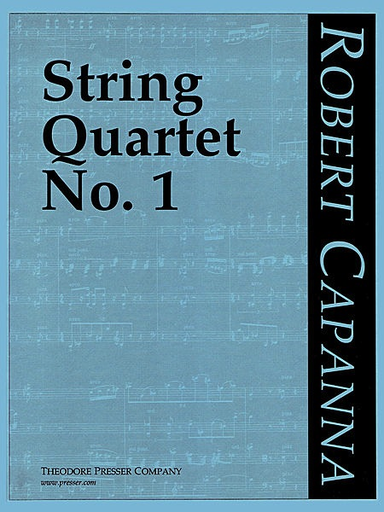 Carl Fischer Capanna, Robert: String Quartet No. 1, score and parts