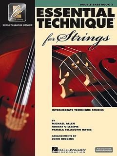HAL LEONARD Allen, Gillespie, & Hayes: Essential Technique - Interactive, Bk.3 (bass)(online resources included)