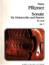 Pfitzner, Hans: Sonate in F-sharp Minor. op. 1 (Cello & Piano)
