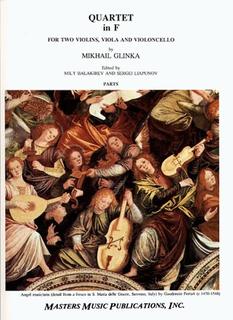 LudwigMasters Glinka, Mikhail: String Quartet in F