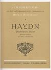 Haydn, F.J.: Divertimento in D Major (2 violins & cello) score & parts