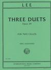 International Music Company Lee (Guignard): Three Duets Op.39 (2 Cellos)