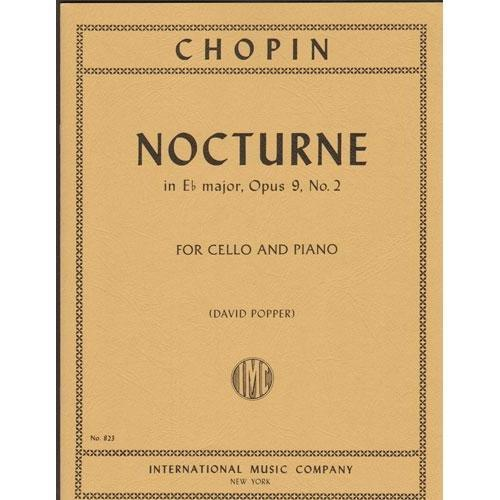 International Music Company Chopin, Frederick: Nocturne in Eb Op.9#2 (cello & piano)
