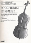 Boccherini, Luigi: Concerto No.2 in D (cello & piano)