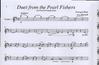 Carl Fischer Bizet, Georges (Martelli): Duet from the Pearl Fishers (string quartet)