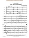 HAL LEONARD Orbison, R.: Oh, Pretty Woman-Pops for String Quartet (score and parts)