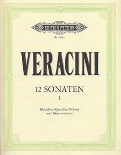 Veracini, F.M.: 3 Sonatas Vol.1 (violin, piano, cello)