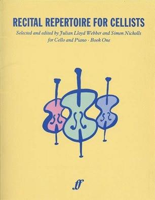 Lloyd Webber, Julian: Recital Repertoire for Cellists Book 1 (cello & piano)