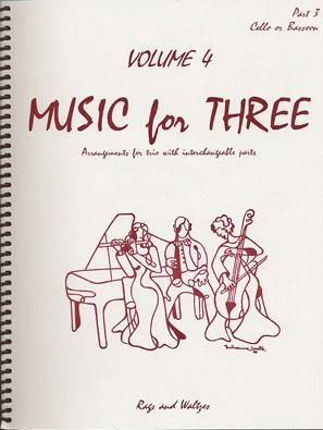 Last Resort Music Publishing Kelley, Daniel: Music for Three Vol.4 Rags & Waltzes (cello)