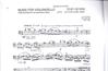 Carl Fischer Ben-Haim, Paul: Music for Violoncello Solo-1977