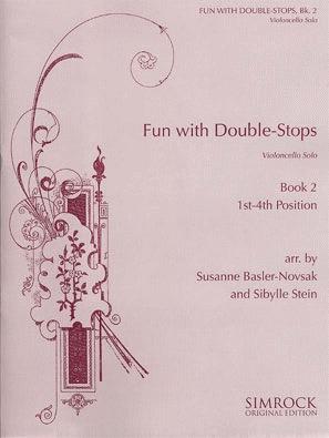 HAL LEONARD Basler-Novsak, S.: Fun with Double Stops Bk.2 1st-4th Position (cello)