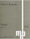 Kossenko, Viktor: Sonata Op. 10 (cello & piano)