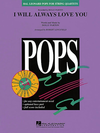 HAL LEONARD Parton, Dolly: I Will Always Love You-Pops for String Quartet (score and parts)