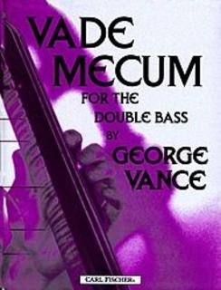Carl Fischer Vance, G.: Vade Mecum (bass)