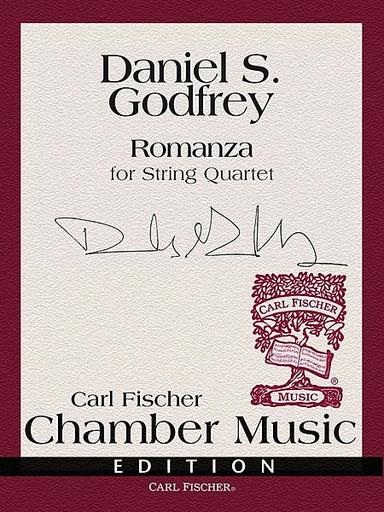 Carl Fischer Godfrey, Daniel S.: Romanza (string quartet) score and parts