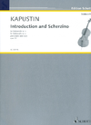 HAL LEONARD Kapustin, N.: Introduction and Scherzino (cello)