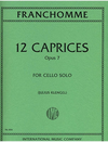 International Music Company Franchomme, Auguste (Klengel): Caprices Op.7 (cello)