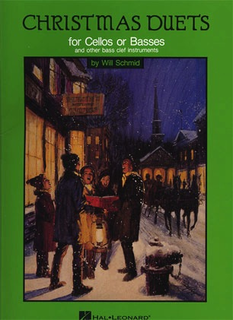 HAL LEONARD Schmid, Will: Christmas Duets for Cellos or Basses