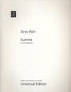 Carl Fischer Part, A.: Summa (2 violins, viola, and cello)