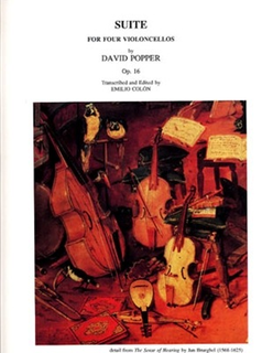 LudwigMasters Popper, David: Suite Op.16 (4 cellos)