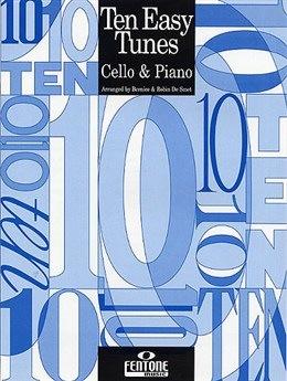 HAL LEONARD DeSmet: Ten Easy Tunes (cello & piano)