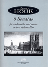 HAL LEONARD Hook, James: 6 Sonatas for cello & piano or two cellos
