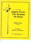 David E. Smith Everson, D.F. (arr.) Angels From The Realms of Glory (string trio)