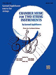Alfred Music Applebaum, S.: Chamber Music for Two String Instruments V.1 (2 cellos)