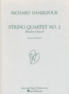 HAL LEONARD Danielpour, Richard: String Quartet No. 2, Shadow Dances, score and parts