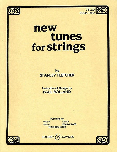 HAL LEONARD Fletcher, S.: New Tunes for Strings Volume 2 (cello)