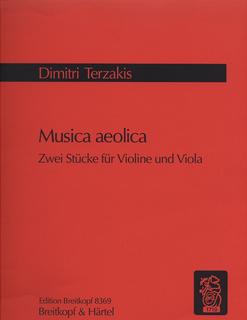 Terzakis, Dimitri: Musica Aeolica (violin & viola)