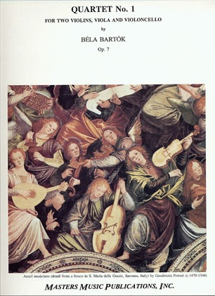 LudwigMasters Bartok, Bela: String Quartet No.1 Op.7 (parts)