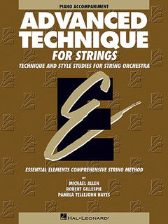 HAL LEONARD Allen, M., Gillespie, R., & Hayes, P.T.: Advanced Technique (piano accompaniment)