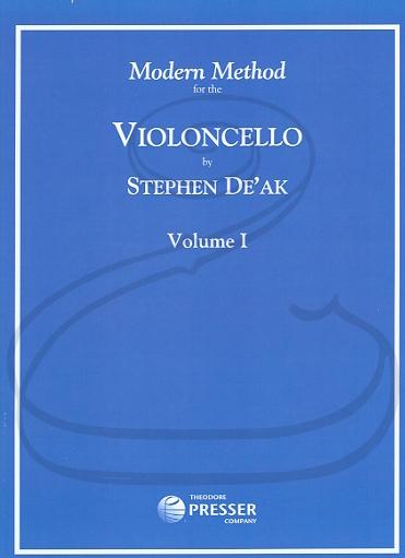 Carl Fischer Deak: Modern Method for the Violoncello, Vol.1 (cello) Theodore Presser