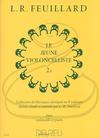 Edition Delrieu Feuillard: The Young Cellist, Vol.2B (cello & piano) Edition Delrieu