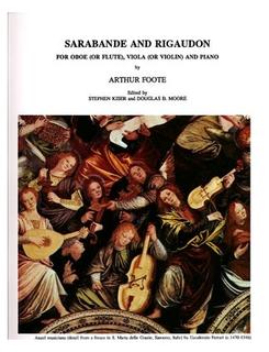 LudwigMasters Foote, Arthur: Sarabande and Rigaudon (oboe, viola or violin & piano)