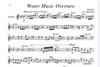 Carl Fischer Handel, G.F. (Martelli): Water Music Overture (string quartet)