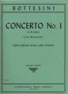 International Music Company Bottesini, Giovanni (Sankey): Concerto #1 in B minor (bass & piano)